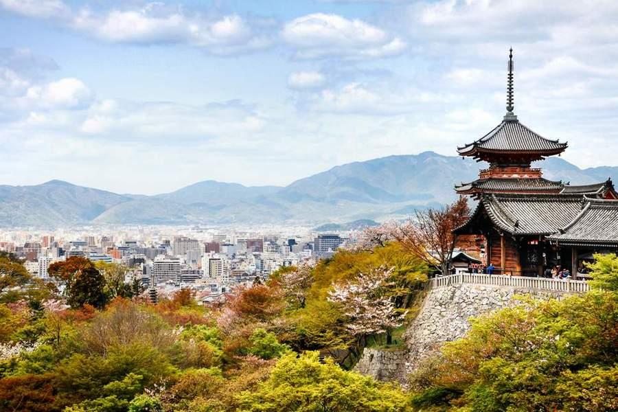 Chùa Kiyomizu Dera, Nhật Bản
