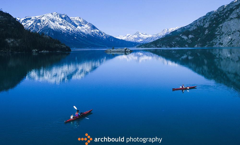 Kayaking-on-Atlin-Lake