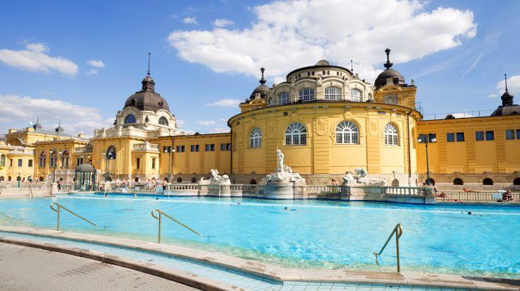 Budapest famous Szechenyi Baths