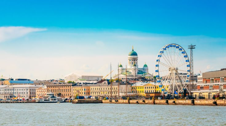 Toàn cảnh thành phố Helsinki