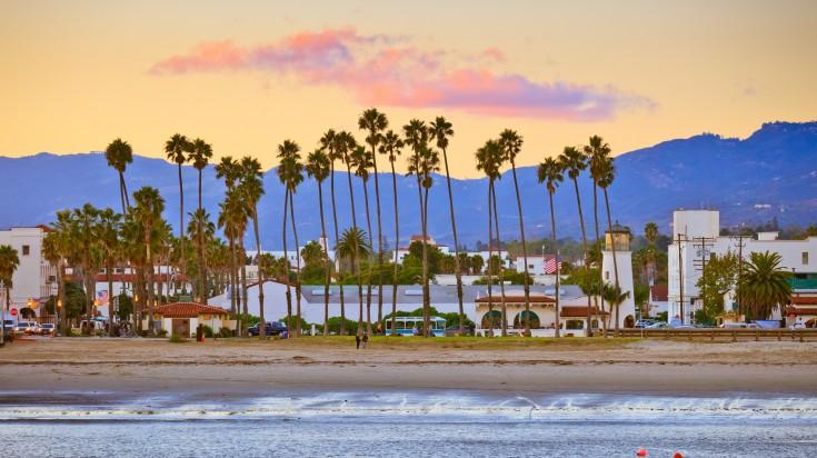Thành phố ven biển Santa Barbara