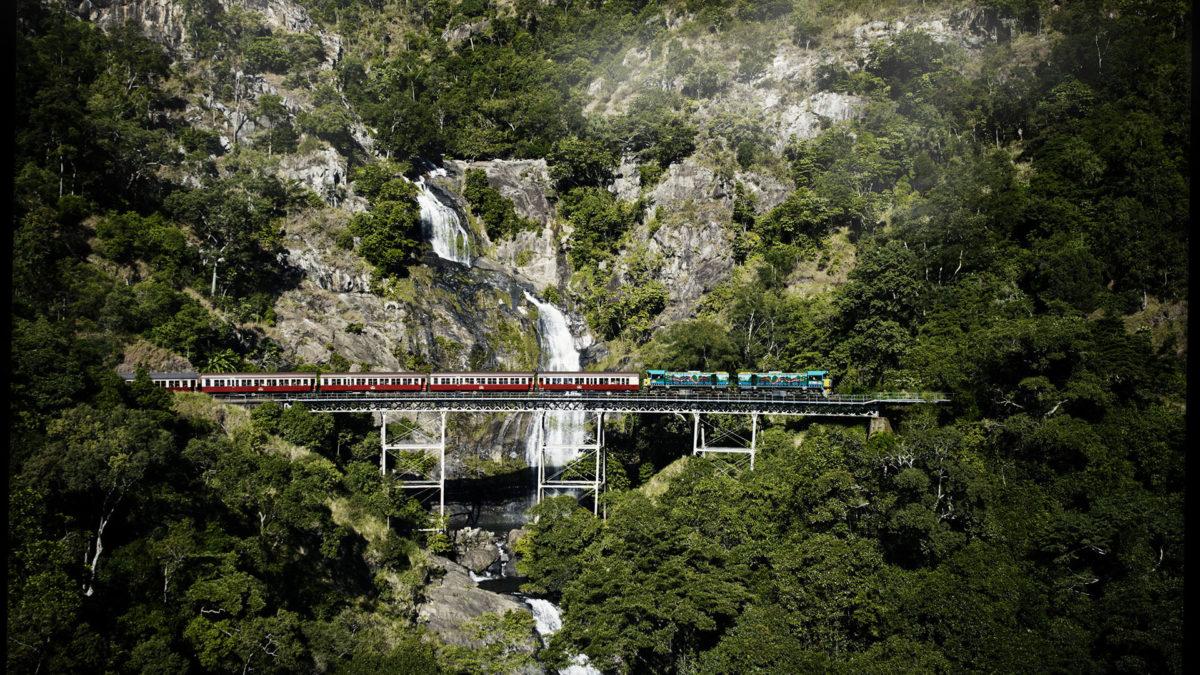Thác Stony Creek - Đường sắt Kuranda
