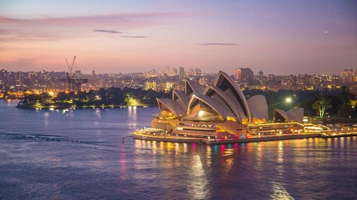 Sydney được biết đến với các địa danh và bãi biển mang tính biểu tượng.