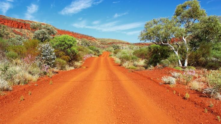 Vườn quốc gia Karijini, Úc
