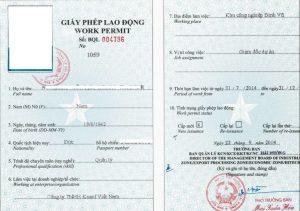 Giấy phép lao động Việt Nam cho người nước ngoài