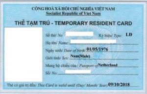 Làm thế nào để có thẻ tạm trú tại Việt Nam cho người nước ngoài