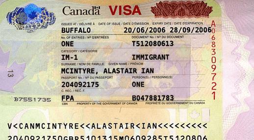 Thị thực nhập cư Canada