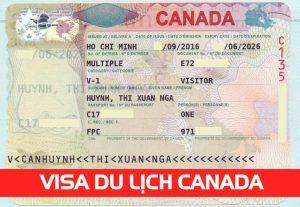Visa du lịch Canada cho Du lịch và Thăm thân