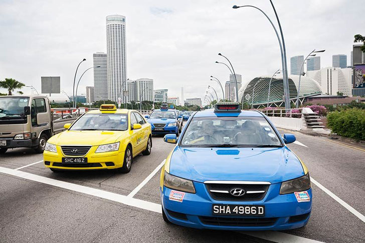 Changi Airport Taxis