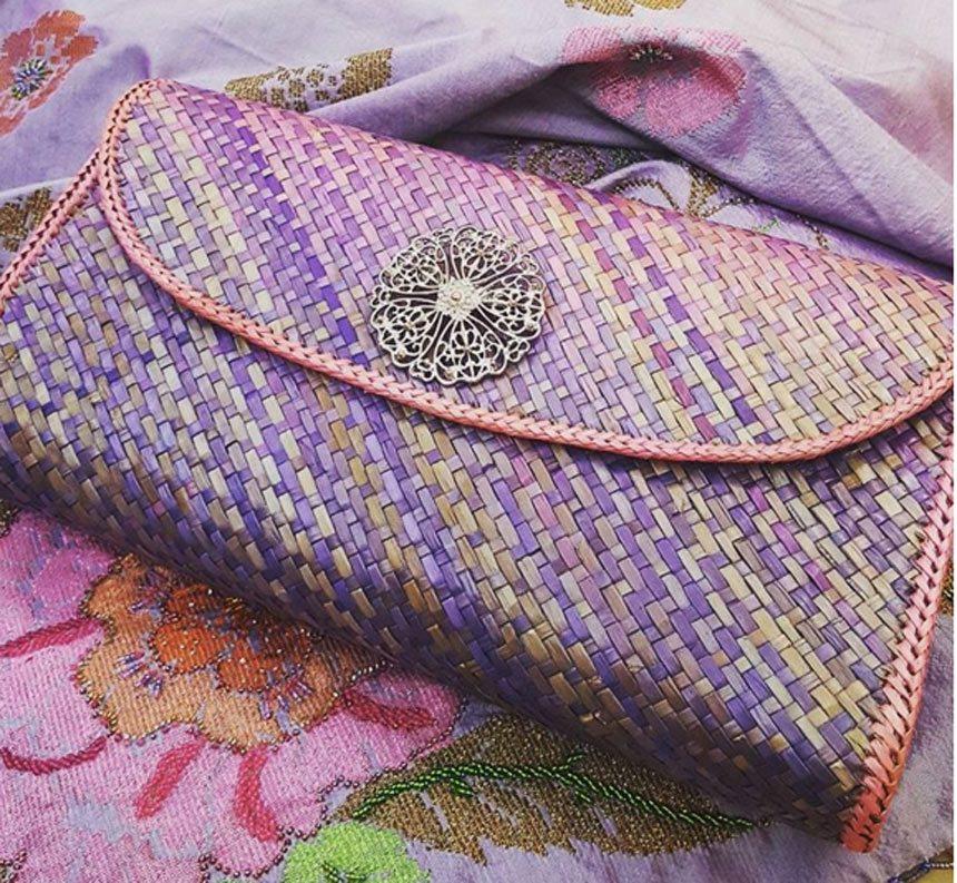Hàng thủ công dệt tay của Malaysia