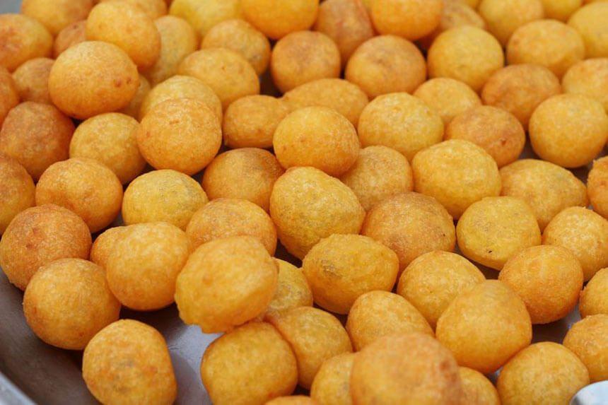 Bánh Bóng khoai lang