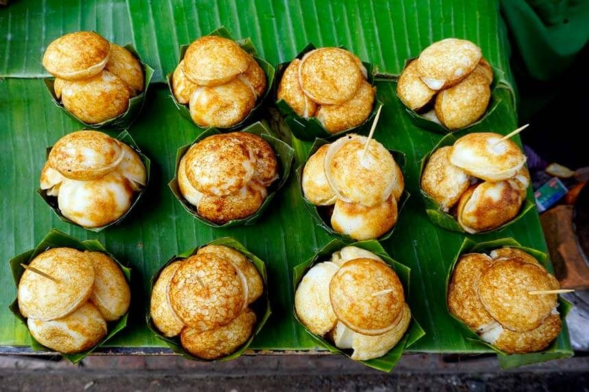 Bánh gạo ngọt truyền thống của Thái Lan