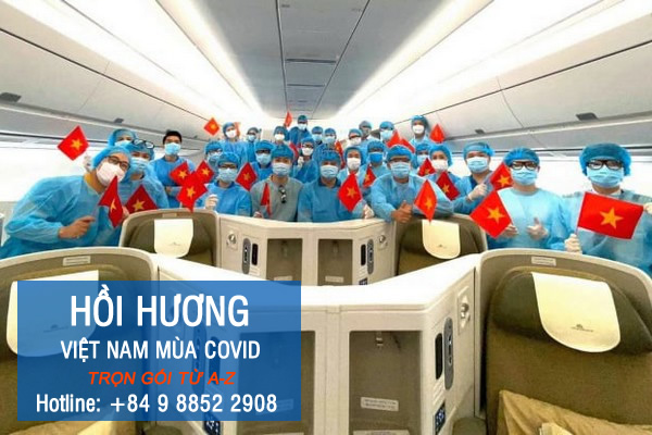 Hướng dẫn cách xin hồi hương về Việt Nam qua chuyến bay cứu trợ từ A-Z