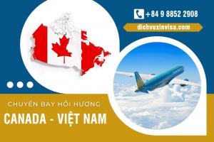 Lịch bay, chuyến bay từ Canada về Việt Nam mới nhất – Tháng 10, 11/2021
