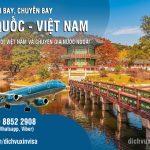 Lịch chuyến bay từ Hàn quốc về Việt Nam – Cập nhật liên tục