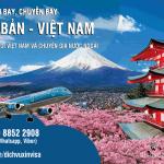 Lịch bay từ Nhật Bản về Việt Nam – Cập nhật liên tục