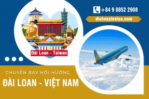 Lịch các chuyến bay từ Đài Loan về Việt Nam mùa dịch Covid – Giá vé tháng 10/2021